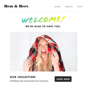 mailchimp webshop marketing automation